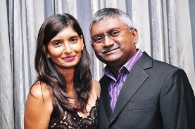 Dr Sagie and Rochelle Govender ABC MINISTRIES Spiritual Parents of Roy and Sheila Pillay