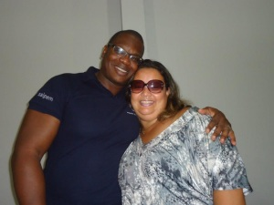 AP ROBSON AND PS CRISTIANE BERDEVILLE MICEF/CCF BANGU, BRASIL